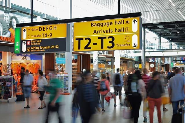 空港ターミナルの写真です
