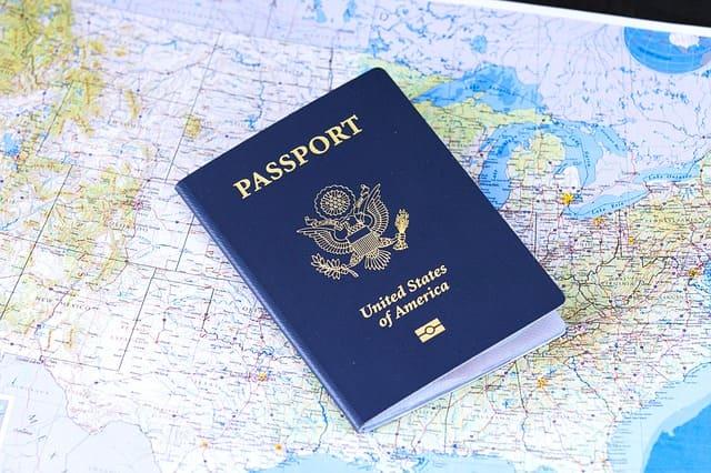 パスポートの写真です